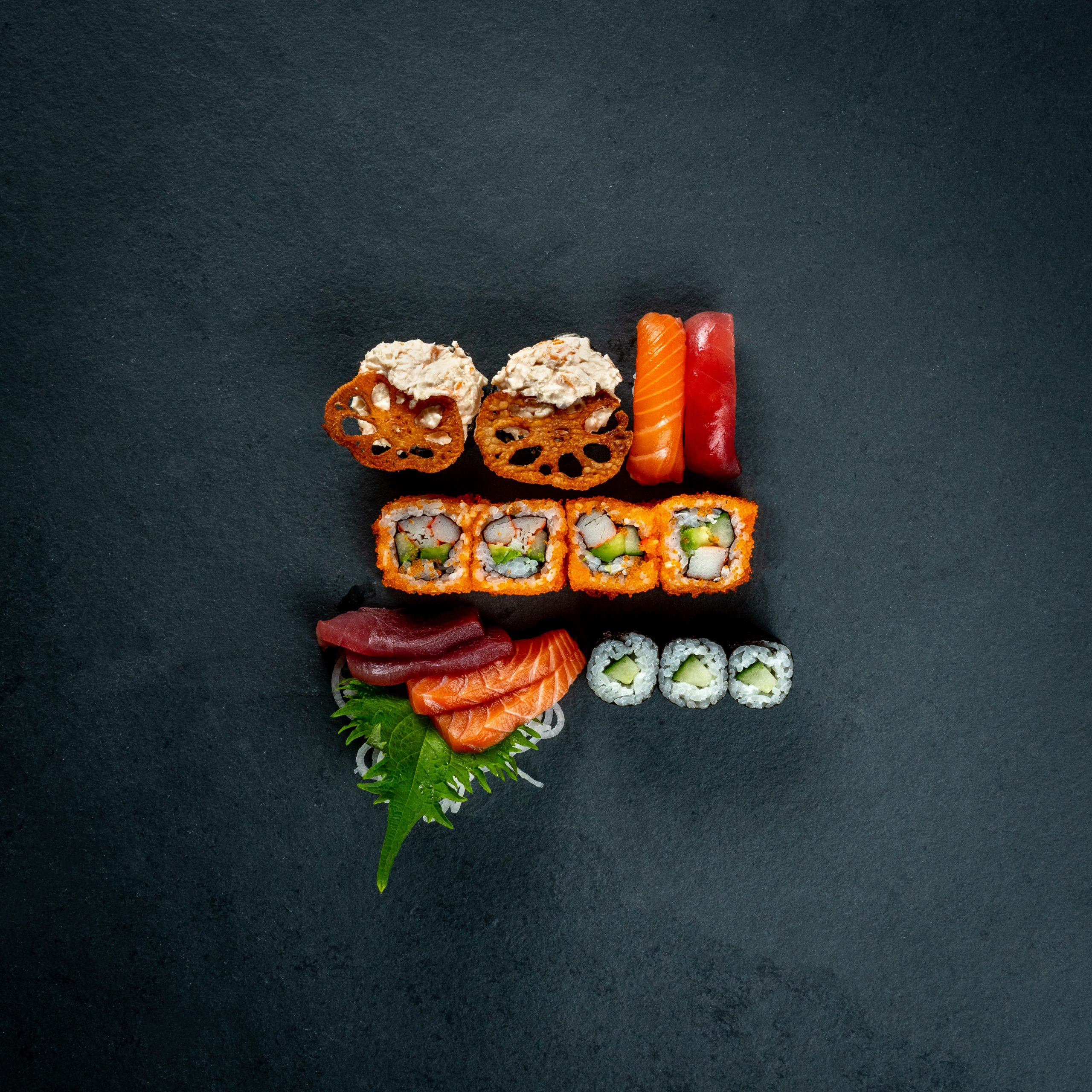 Food Photography - Sushi San Zeist - Done by Deon